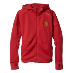 Veste junior Manchester United Anthem rouge 2016 - 2017