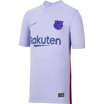 Maillot junior FC Barcelone extérieur 2021/22