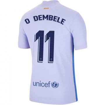 Maillot Dembélé FC Barcelone extérieur 2021/22
