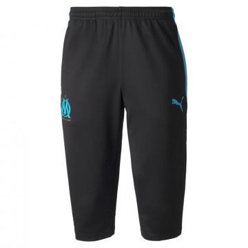 Pantalon entraînement 3/4 OM noir bleu 2021/22