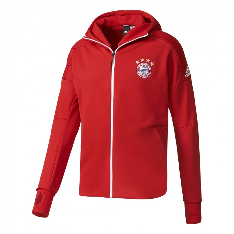 Veste Bayern Munich Anthem rouge 2016 - 2017