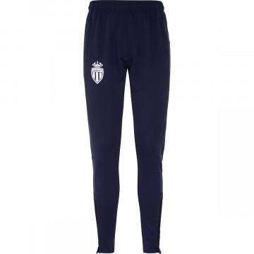 Pantalon entraînement junior AS Monaco bleu 2021/22
