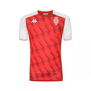 Maillot entraînement AS Monaco rouge blanc 2021/22