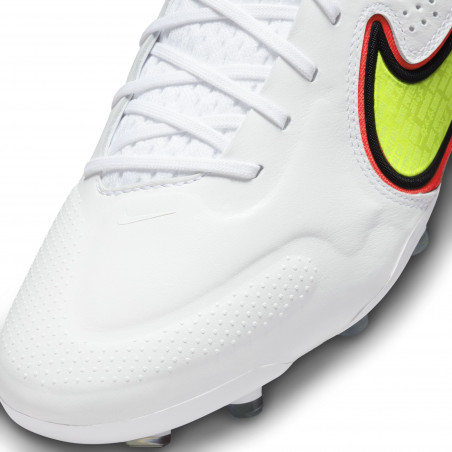 Nike Tiempo Legend 9 Elite FG rouge jaune