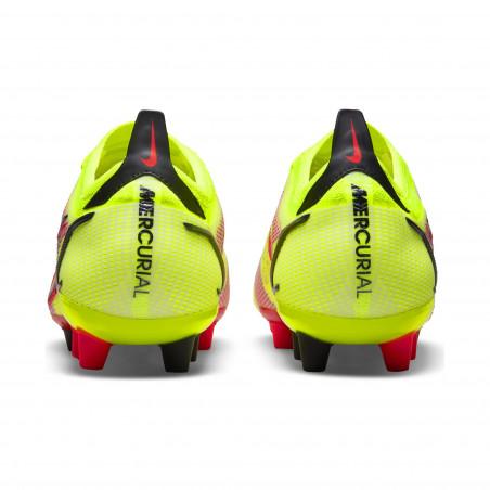 Nike Mercurial Vapor 14 Elite AG jaune rouge