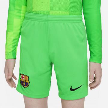 Short gardien junior FC Barcelone extérieur 2021/22