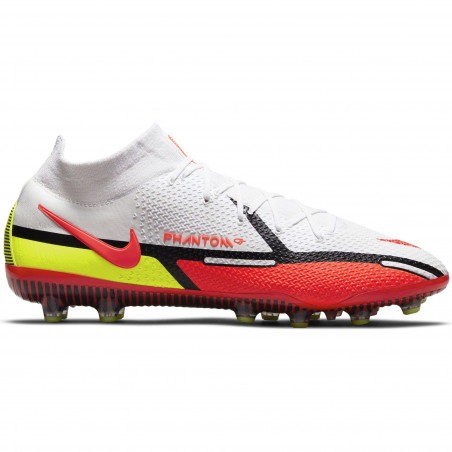 Nike Phantom GT2 montante Elite AG-Pro rouge jaune