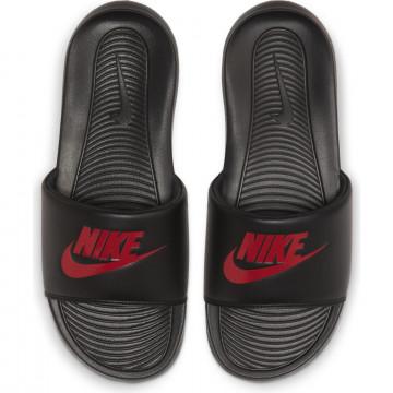 Sandales Nike Victori One Slide noir rouge