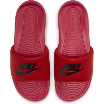 Sandales Nike Victori One Slide rouge noir