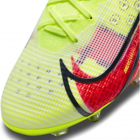 Nike Mercurial Superfly 8 Elite SG-Pro Anti-Clog jaune rouge
