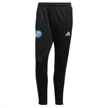 Pantalon survêtement RC Strasbourg noir blanc 2021/22