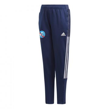 Pantalon survêtement junior RC Strasbourg bleu blanc 2021/22
