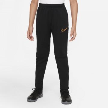 Pantalon survêtement junior Nike Academy noir orange