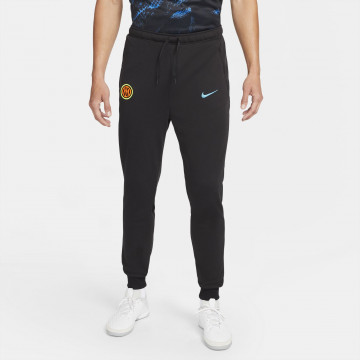 Pantalon survêtement Inter Milan Fleece noir 2021/22