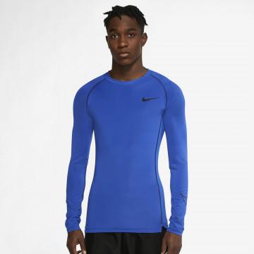 Sous maillot manches longues Nike bleu