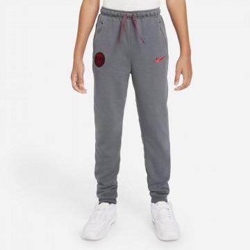 Pantalon survêtement junior PSG Fleece gris rouge 2021/22