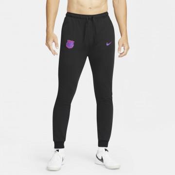 Pantalon survêtement FC Barcelone Fleece noir rose 2021/22