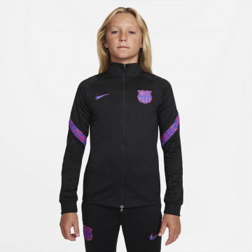 Ensemble survêtement junior FC Barcelone noir rose 2021/22