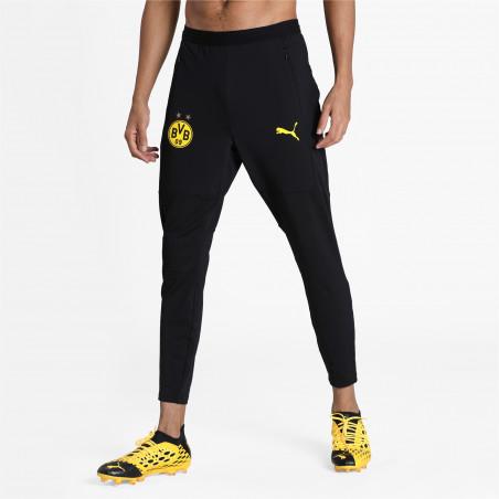 Pantalon entraînement Dortmund noir jaune 2020/21