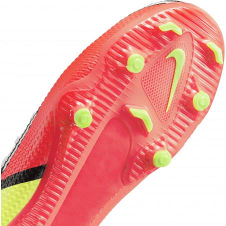 Nike Phantom GT2 junior Academy FG/MG rouge jaune
