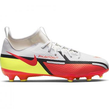 Nike Phantom GT2 junior Academy montante FG/MG rouge jaune