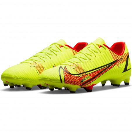 Nike Mercurial Vapor 14 Academy FG/MG jaune rouge