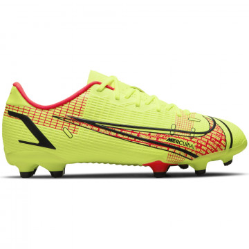 Nike Mercurial Vapor 14 junior Academy FG/MG jaune rouge