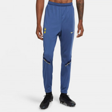 Pantalon survêtement Tottenham bleu jaune 2020/21