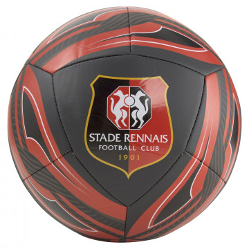 Ballon Stade Rennais noir rouge 2021/22
