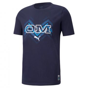 T-shirt OM Culture bleu 2021/22