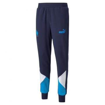 Pantalon survêtement OM Culture bleu 2021/22
