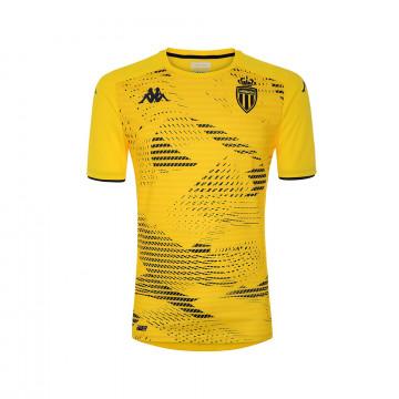 Maillot entraînement junior AS Monaco jaune 2021/22