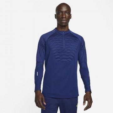 Sweat zippé Nike Strike bleu