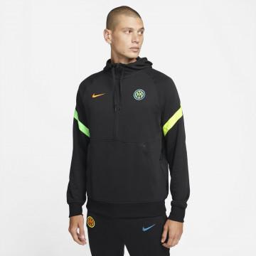 Sweat zippé Inter Milan Fleece noir 2021/22