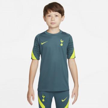 Maillot entraînement junior Tottenham vert jaune 2021/22