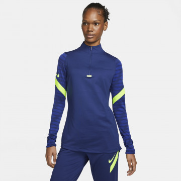 Sweat zippé Femme Nike Strike bleu