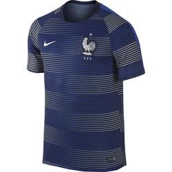 Maillot entraînement Equipe de France bleu et gris 2016