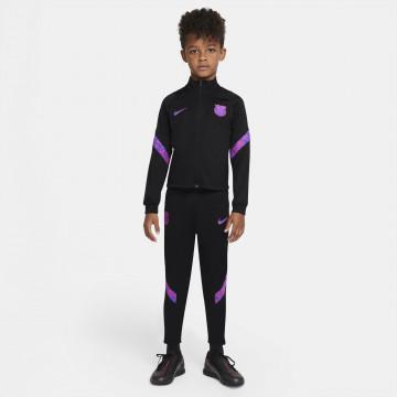 Ensemble survêtement enfant FC Barcelone noir rose 2021/22