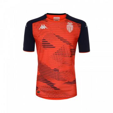 Maillot entraînement Monaco orange noir 2021/22