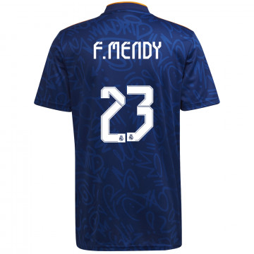 Maillot F. Mendy Real Madrid extérieur 2021/22