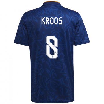 Maillot Kroos Real Madrid extérieur 2021/22