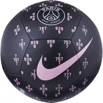 Ballon PSG Pitch noir rose 2021/22