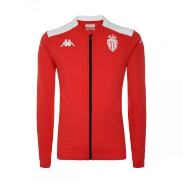 Veste survêtement AS Monaco rouge blanc 2021/22