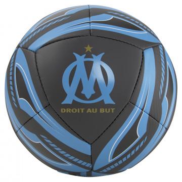 Mini-ballon OM Icon noir bleu 2021/22