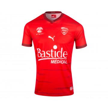 Maillot Nîmes Olympique domicile 2021/22