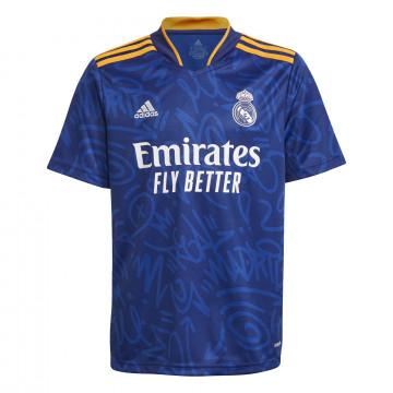 Maillot junior Real Madrid extérieur 2021/22