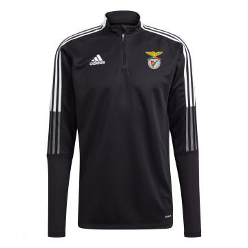 Sweat zippé Benfica noir 2021/22