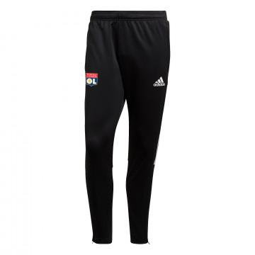 Pantalon survêtement OL noir blanc 2021/22