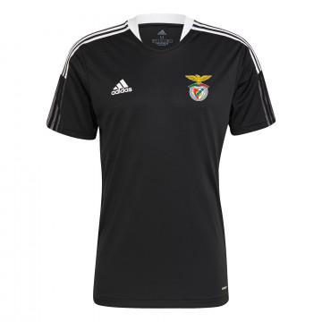 Maillot entraînement Benfica noir blanc 2021/22