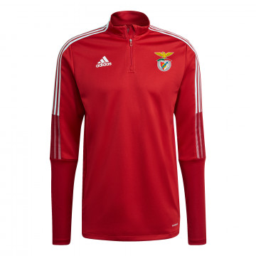 Sweat zippé Benfica rouge 2021/22